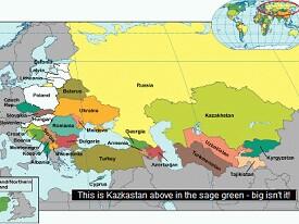kaz map
