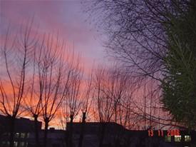 siberian sunset